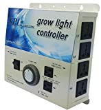 SPL 1000 STCOT 1000w 600w 400w watt 8-Plug Grow Light Controller System With Timer 110 / 240 Volt Digital Dimmable HPS MH System