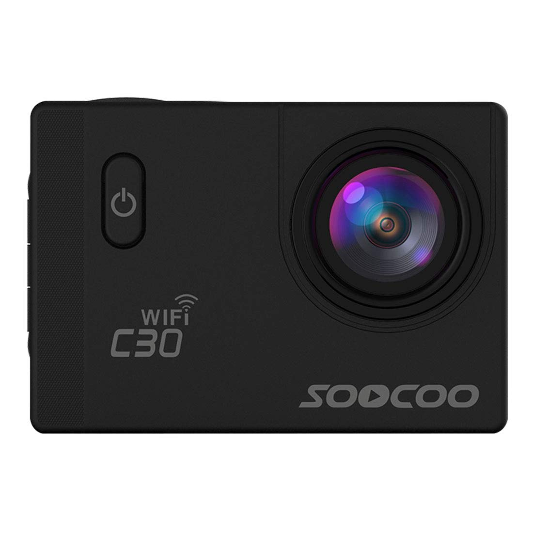 Underwater Photography Sports Camcorders, SOOCOO C30 2.0 inch Screen 4K 170 Degrees Wide Angle WiFi Sport Action Camera Camcorder with Waterproof Housing Case, Support 64GB Micro SD Card, Diving Red L by Cqu