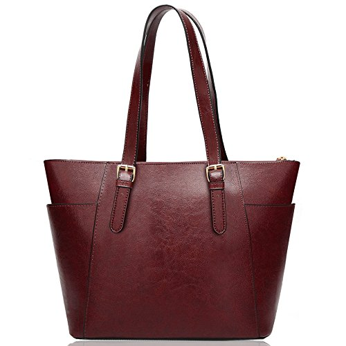 COCIFER Womens Purses and Handbags Shoulder Bag Large Tote Bags Top Handle - Tote Zip Top Purse