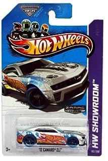2013 Hot Wheels # 192 Hw Showroom Hw Garage '12 Camaro Zl1 Zamac 009 Walmart Excl