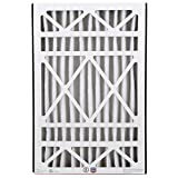 BestAir AB1625-11R Furnace Filter, 16' x 25' x 5', Trion Air Bear Replacement, MERV 11, 3 pack