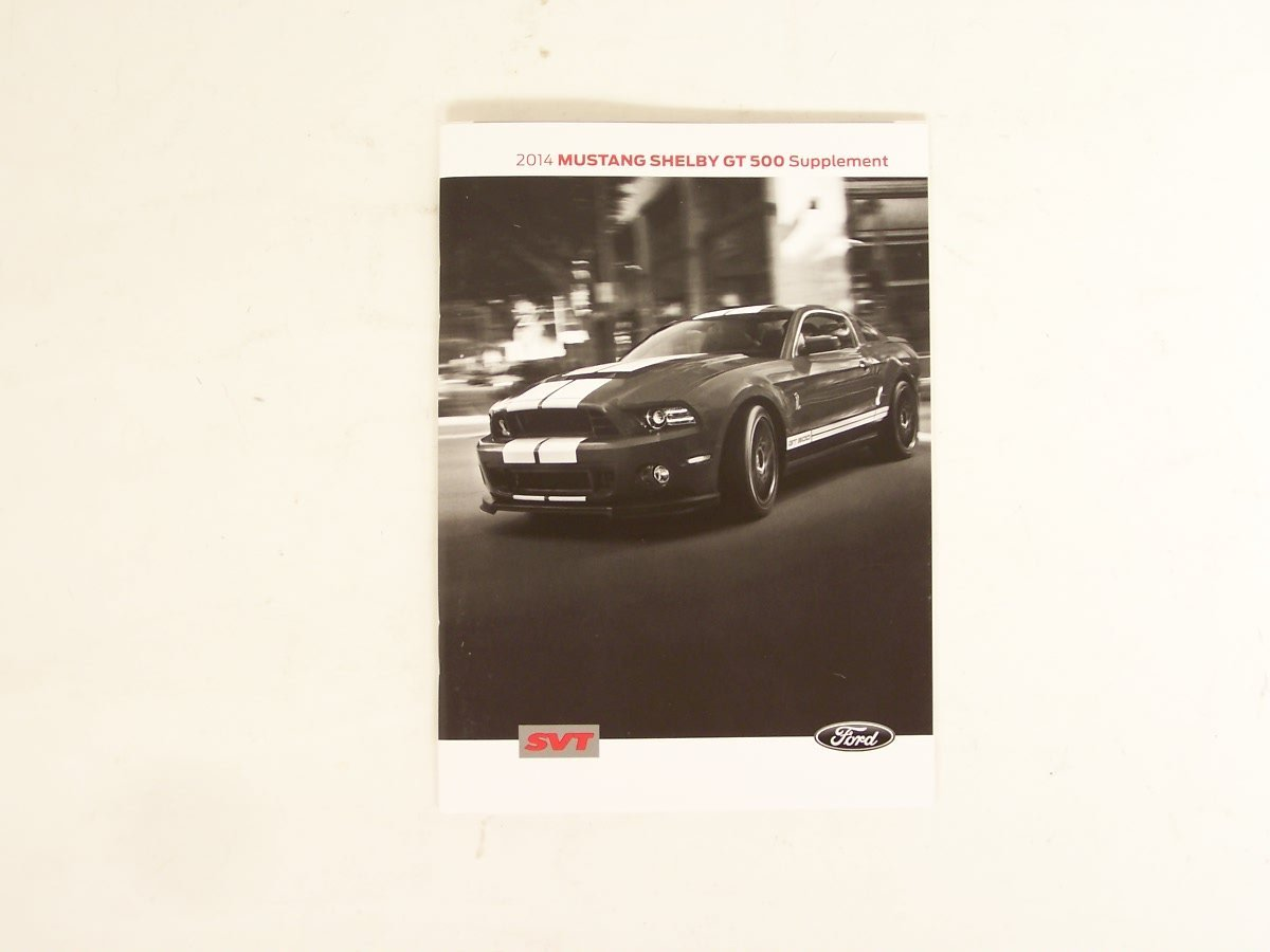 ford mustang owners manual 2014
