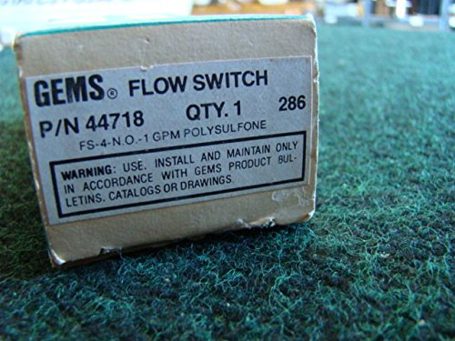 NIB Gems Flow Switch 44718 from Generic