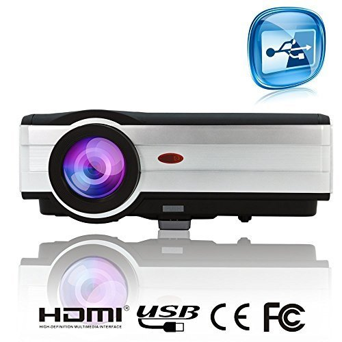 EUG?X89 HDMI LCD LED Home Cinema Projector 1024x768 Support 1080p 720p 150'...