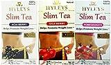Hyleys Slim Tea Goji Berry, Acai Berry and Pomegranate 1.32 oz (Pack of 3)