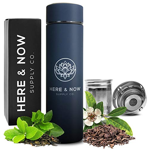 Top 10 Best Tea Thermos with Infuser Strainer Reviews 2019-2020 cover image