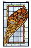 Meyda 15 Inch W X 25 Inch H Guideboat Stained Glass Window offers
