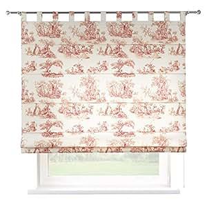 dekoria 80 x 170 cm 31 5 x 67 inch verona tab top voile con accesorios rojo caracteres. Black Bedroom Furniture Sets. Home Design Ideas