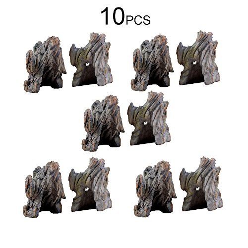 Make A Cave Girl Halloween Costume (Conjugal Bliss 10PCS Resin Miniature Artificial Rockery Mountain Cave Stone Dollhouse Decoration for Home Garden Bonsai Dollhouse Decor Landscape Fish Tank Ornaments)
