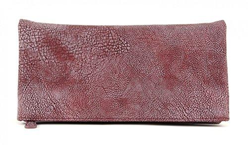 Fritzi aus Preußen Ronja Clas 2D Clutch Bolso bandolera 30 cm Inka Red (Rojo / Púrpura)