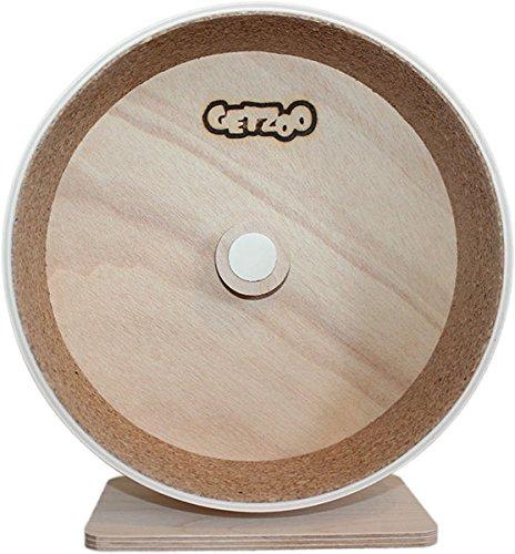 Ø 25 cm Getzoo Holzlaufrad mit Korklauffläche
