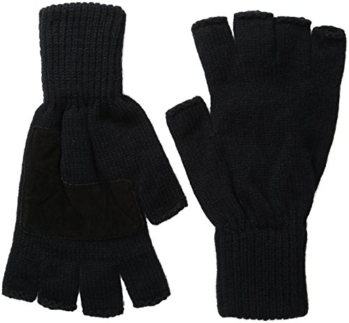 Levis Mens Heathered Fingerless Gloves