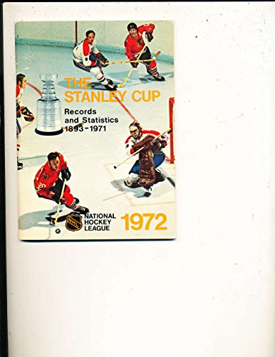 1972 NHL Stanley Cup Media Press Guide NHL Mg1