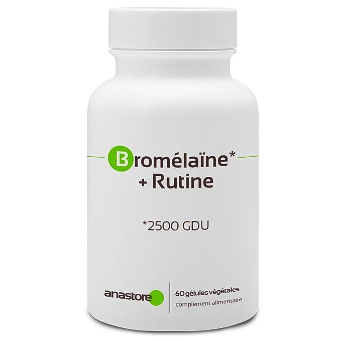 BROMELINA + RUTINA * 375 mg / 60 cápsulas ...