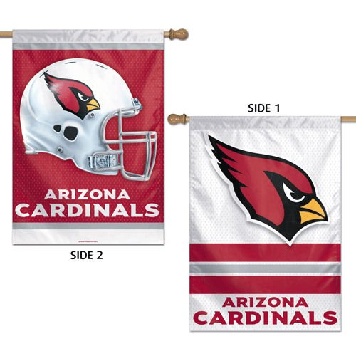 Arizona Cardinals Official NFL 28''x40'' Banner Flag by Wincraft by WinCraft