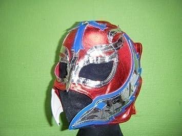 rojo - Rey Mysterio infantil máscara