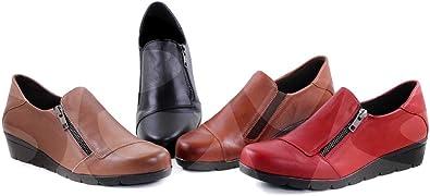 Zapatos Amelie 880 Corte-Piel,Forro-Textil,Plantilla-Piel y Gel ...