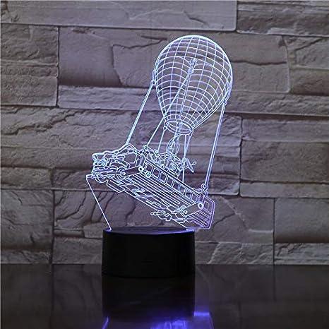 FORNITE - Lámpara LED 3D de autobús de batalla para mesa de ...