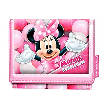 Karactermania Minnie Mouse Bubblegum Monederos, 12 cm, Rosa ...