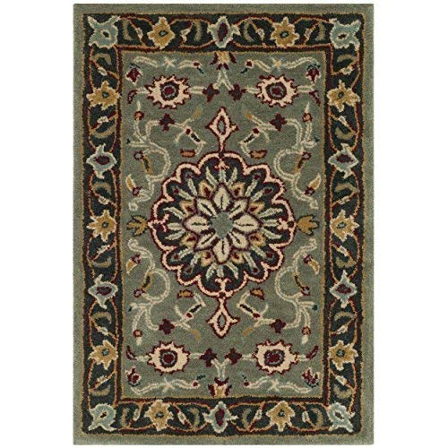 Safavieh Heritage Collection HG736A Grey and Charcoal Area Rug 2 x 3
