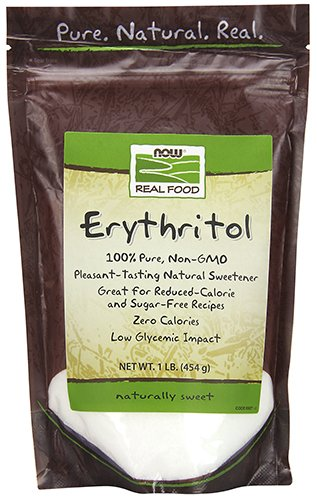 Sweetener Natural Recipes - NOW Foods Erythritol Natural Sweetener, 1 lb