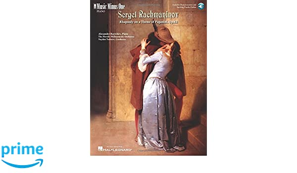 Rachmaninov - Rhapsody on a Theme of Paganini: Music Minus One Piano: Sergei Rachmaninov: 0884088264956: Amazon.com: Books