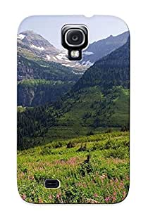 Podiumjiwrp TwBOFdv4176vcplD Protective Case For Galaxy S4(glacier National Park ) - Nice Gift For Lovers