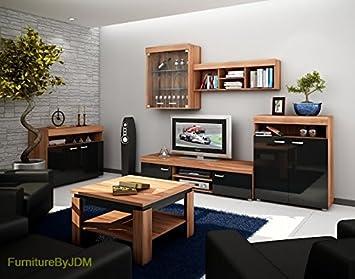 Tv Wohnwand Tv Tisch Set Wohnzimmer Set Max Tv Bank Freistehend