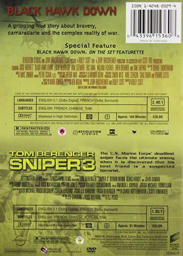 Black Hawk Down/Sniper 3