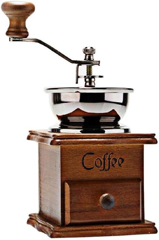 Molinillo de café Manual, cafetera de manivela Manual, máquina de ...
