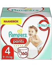 Pampers Premium Protection Luierbroekjes, MAANDBOX, Pampers N°1 Luierbroekjes met Comfortabele Pasvorm En Gemakkelijk Aan Te Trekken