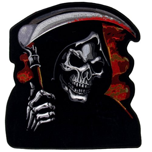 Hot Leathers Grim Reaper Biker Patch (11