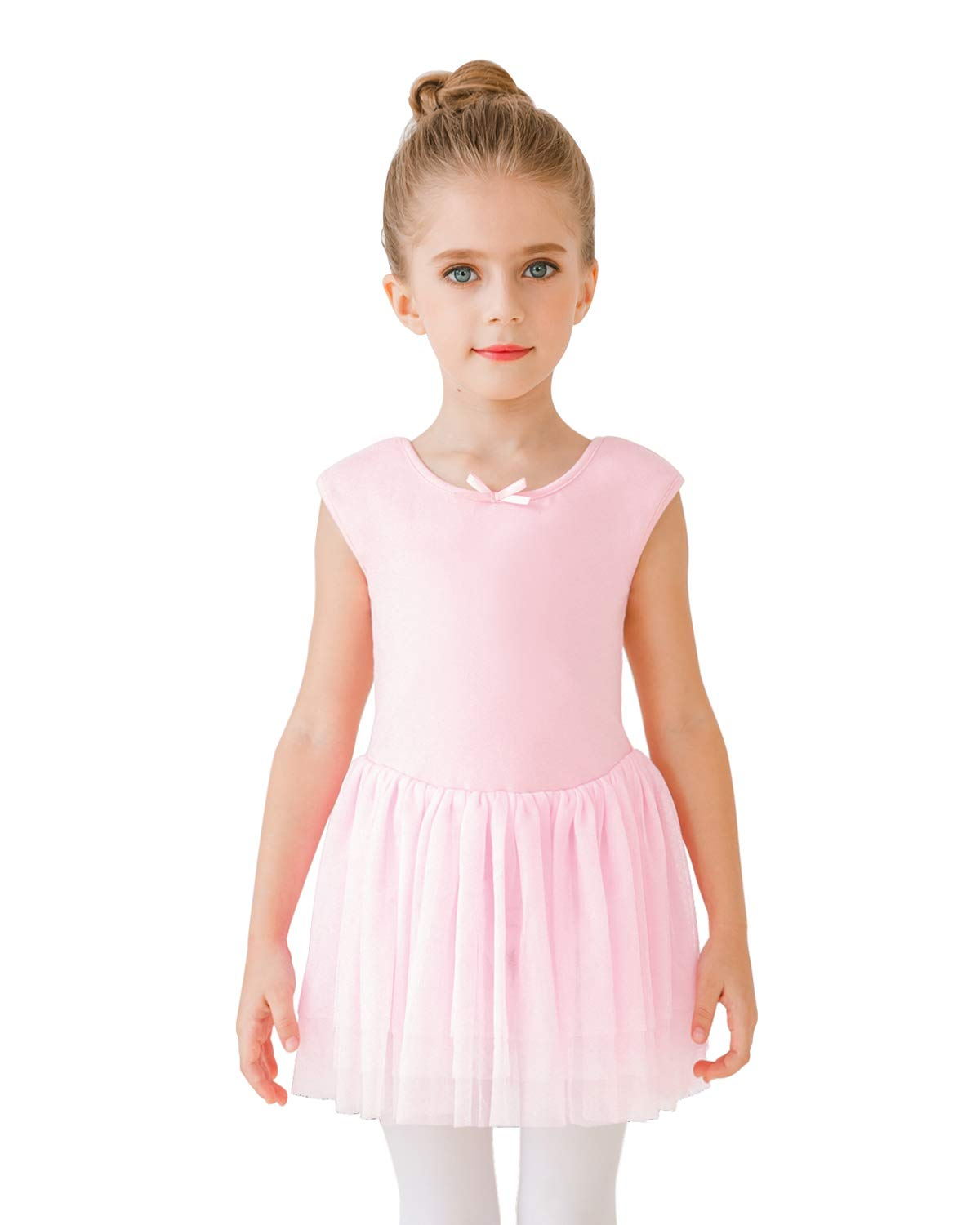 Stelle Toddlergirls Tank Tutu Dress Leotard For Dance Gymnastics And Ballet Bp Tutu 100cm