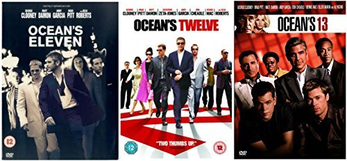 Oceans Trilogy DVD Collection Eleven Twelve Thirteen 11