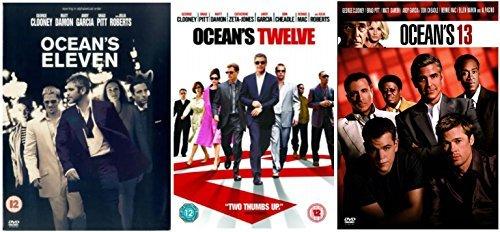 Oceans Trilogy Dvd Collection Oceans Eleven Oceans Twelve Oceans Thirteen Oceans 11