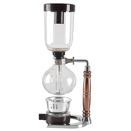 Amazon.com: ACOMG - Cafetera de cristal al vacío, sifón ...
