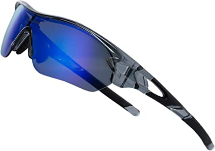 Outdoor fishing cycling polarized sunglasses 3 lens set sports goggles for men