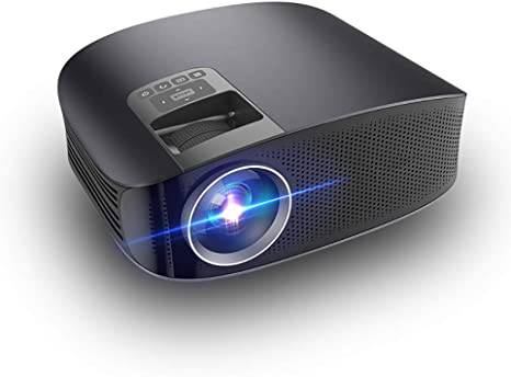 SWEET Mini Proyector Led Portatil Full HD,Soporte De Pantalla Full HD 1080p Y 200 Pulgadas,