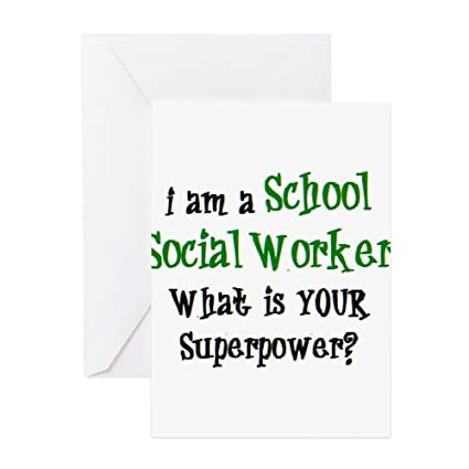 Amazon cafepress school social worker greeting card note cafepress school social worker greeting card note card birthday card blank m4hsunfo