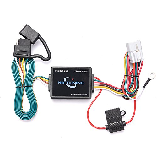 Subaru Forester Wagon (MICTUNING 7ft Trailer Wiring Harness with 4-Pin Flat Connector for Subaru Forester Outback Wagon XV Crosstrek)