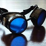 Steampunk Victorian Goggles welding Glasses diesel punk-owp 7