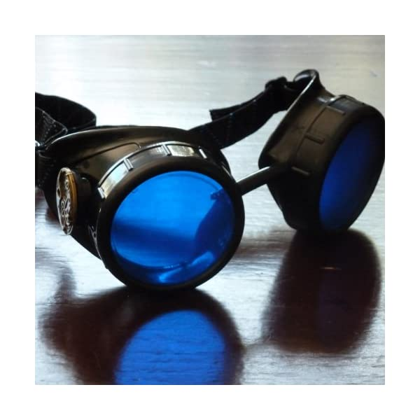 Steampunk Victorian Goggles welding Glasses diesel punk-owp 4