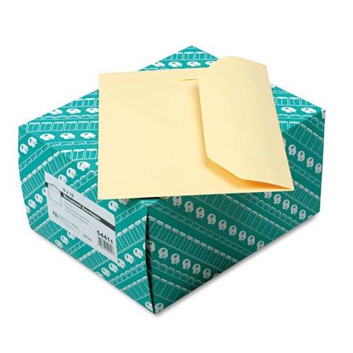 Quality Park 54411 Open Side Booklet Envelope Traditional 12 x 9 Cameo Buff - Park Quality Booklet Envelope