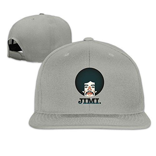 Jimi Hendrix American Rock Songwriter Flat Cap Cool Baseball Caps Designer Custom Sun ()