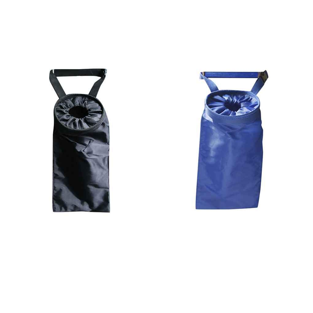 f1df14b1116f Amazon.com: OmkuwlQ Oxford Cloth Car Trash Can Garbage Hanging Bag ...