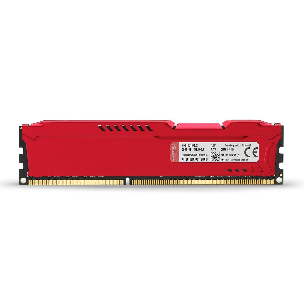 2 x 4 Go Fury  DDR3 Kit 8Go M/émoire RAM HyperX HX316C10FBK2//8 - Noir