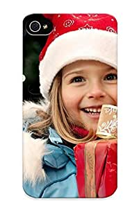 meilinF000iphone 4/4s Case Slim [ultra Fit] Winter Christmas Protective Case Cover(best Gift Choice For Friends)meilinF000