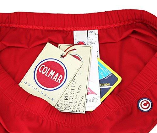 Colmar Costume Slip Uomo Rosso Art. 6681 4LR Mare Piscina