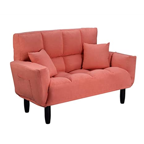 Excellent Amazon Com Loveseat Sofa Couch 74 Inch Sofa With Pillow Squirreltailoven Fun Painted Chair Ideas Images Squirreltailovenorg