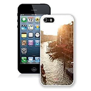 For Iphone 5/5S Case Cover CaCustomized Landscape 21 New Fashion PC Black Hard